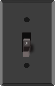 graphic of light switch in story regarding thoroughness of SEO coder